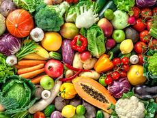 Цветни храни, подхранващи кожата