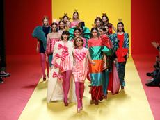Сърца и ярки цветове в колекцията на Prada