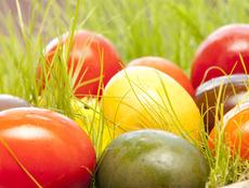 Да боядисаме великденските яйца... без бои