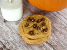 Тиквени бисквити с шоколадови парченца