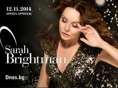 Спечелете билети за концерта на Сара Брайтман