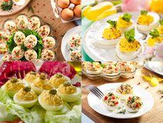 9 рецепти за пълнени яйца