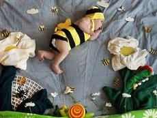 Уникални бебешки фотографии (галерия)