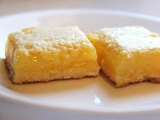 Маслени лимонови барчета