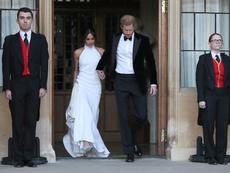 Втората рокля, която Меган Маркъл носи в сватбения ден