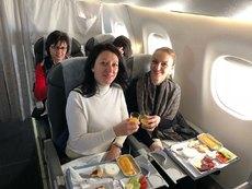 България Ер изненада дамите за 8 март с безплатни полети в бизнес класа