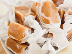 Домашни смучещи карамелени бонбони
