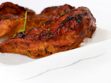 Пиле тандури на барбекю