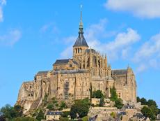Мон Сен Мишел – чудната френска скала (галерия)