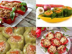 Разнообразни рецепти за пълнени чушки