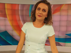 "Гергана Венкова сяда в стола на водещия на ""България сутрин"" Златимир Йочев"