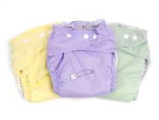 Плюсове и минуси на текстилните пелени за многократна употреба