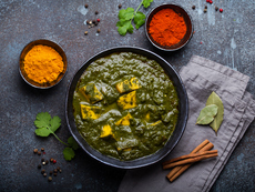 Индийска супа с леща и спанак