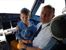 """Деца станаха пилоти на """"България Ер"""" специално за Деня на детето"""