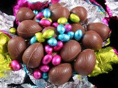 Великденски шоколадови яйца