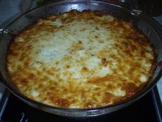 Суфле от тиквички с картофи