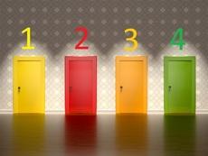 Тест с 4 врати разкрива как се чувствате на този етап от живота си