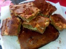 Домашен хляб с колбас и кашкавал