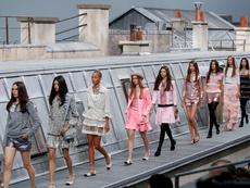 Каре, райе и надиплени материи от Chanel за пролет/лято 2020