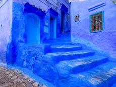 Шефшауен – синият град (галерия)