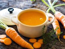Морковена супа с къри