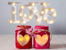 Любовни свещници за Свети Валентин