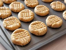 Бисквити с фъстъчено масло без брашно