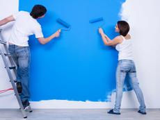 Лесно боядисване на стените у дома
