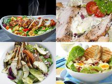 15-те най-добри рецепти за салата с пилешко
