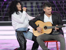 Лили Иванова засенчи Адел в изпълнение на Милица