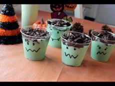 Как да си направите призрачен пудинг за Хелоуин?
