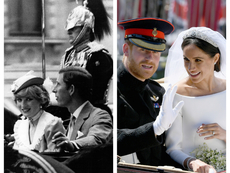 Как принц Хари почете паметта на Даяна на сватбата си