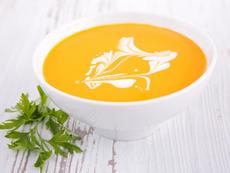 Студена крем супа с моркови и джинджифил