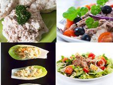 10 летни рецепти за салата с риба тон