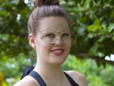 Как да си направите красива дантелена маска