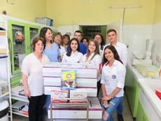 Болници в четири града получиха оборудване, закупено от деца