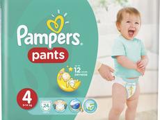 Кои са най-добрите пелени за активни бебета?