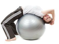 3 упражнения с фитнес топка за цялостно стягане