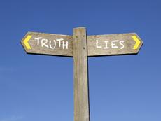 Притча за голата Истина и Лъжата