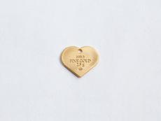 Златно и сребърно сърце за любимите ви хора