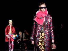 Versace с pre-fall колекция в Ню Йорк