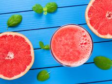 Напитка с грейпфрут топи мазнини