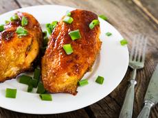Глазирани пилешки гърди