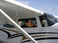 Йорданка Христова в откровен разговор по време на полет над София