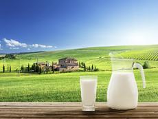 За първи път на българския пазар прясно мляко в прозрачна бутилка