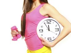 Хранене в зависимост от времето, в което тренираме