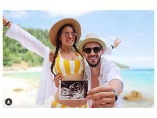 Наум Шопов-младши и годеницата му Теа очакват първо бебе