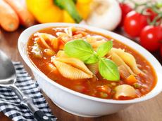 Зеленчукова супа с макарони