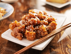 Пиле със сусам по китайски