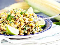 Мексиканска салата с царевица
